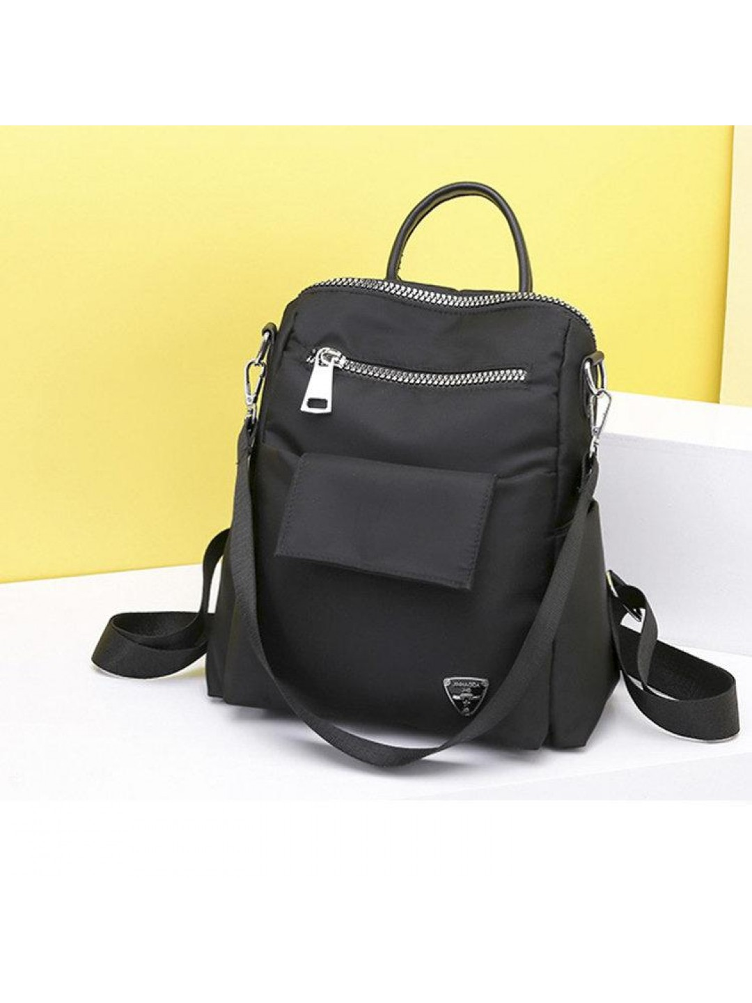 Women Casual Nylon Multi-carry Backpack